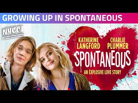 Katherine Langford & Charlie Plummer Talk Blowing Up & Growing Up in Spontaneous