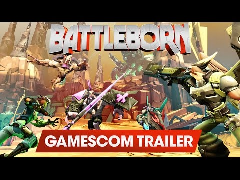 Battleborn: Can't Get Enough (Gamescom 2015 Trailer) thumbnail