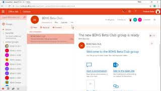 BETA Groups Sign Up Tutorial