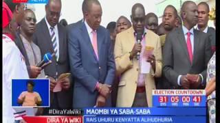 Maombi ya Saba Saba yaandaliwa Uhuru Park