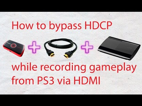 How To Bypass Ps3 Hdcp While Recording Gameplay Via HDMI From Avermedia Live Gamer Portable Mp3