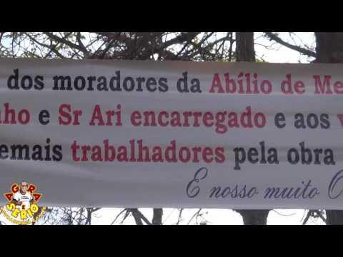 Manutenção de Rua em São lourenço da Serra e Digno de Homenagem pelos Moradores da Rua Abílio de Medeiros