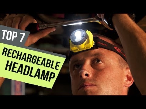 7 Best Rechargeable Headlamp 2018 Reviews