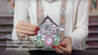 EZ Steps to Create Shaped Cards and Vellum Accents