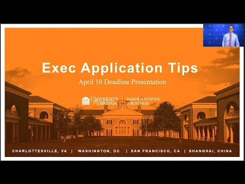 Exec Application Tips - April 2018