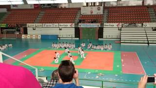 preview picture of video 'Exhibición taekwondo Teruel'