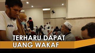 Jemaah Haji Aceh Terharu Terima Uang Wakaf dari Baitul Asyi di Makkah