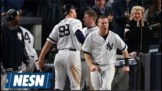 Aaron Judge, Yankees Rally To Even Up ALCS Against Astros
