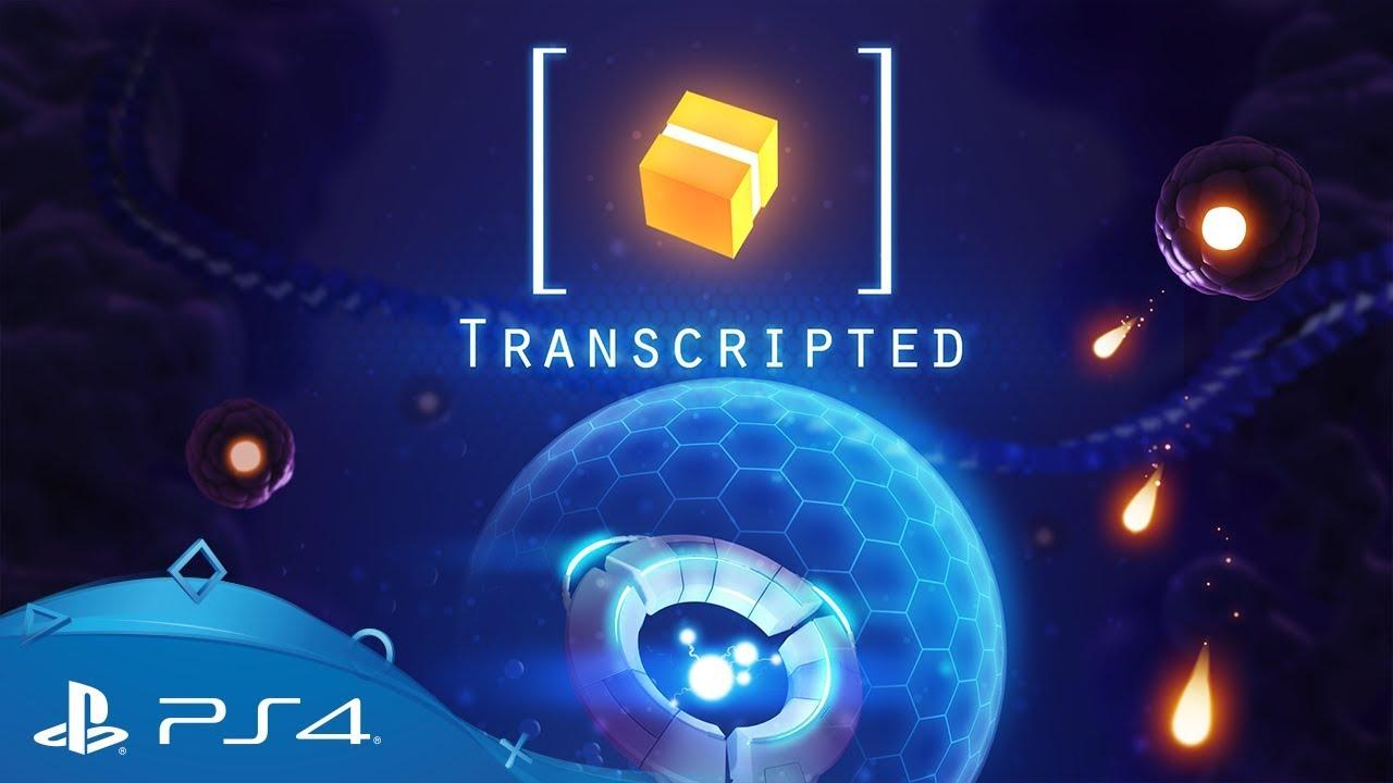 Transcripted, mash-up tra uno sparatutto a doppia levetta e un gioco in stile match 3, sarà disponibile su PS4 dal 13 settembre.