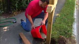 How to Install a New Mailbox Post