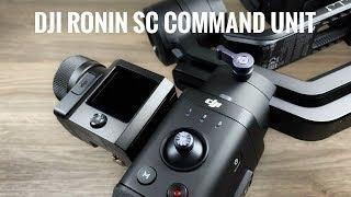 DJI Ronin SC & Command Unit Compatibility