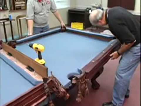 How To Install A Pool Table - Pockets And Rails - Home Billiards Mp3