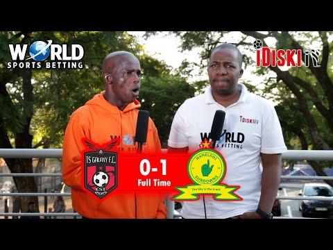 TS Galaxy 0-1 Mamelodi Sundowns | Poor Sundowns Still Winning, It Tells You | Junior Khanye