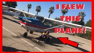 I FLEW A PLANE! | Cynthia Sotelo