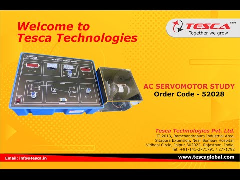 AC Servomotor Study Trainer