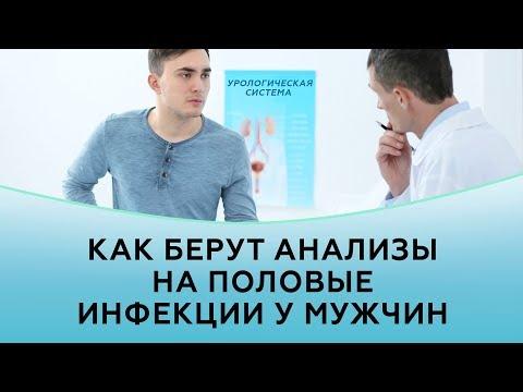 Как берут анализы на половые инфекции у мужчин | Частная практика