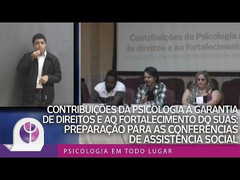 Contribuições da Psicologia à garantia de direitos e ao fortalecimento do SUAS