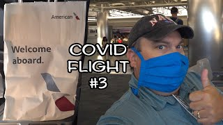 """What's it like flying with American Airlines during Covid? """"First Class"""" to Dallas-Fort Worth"""