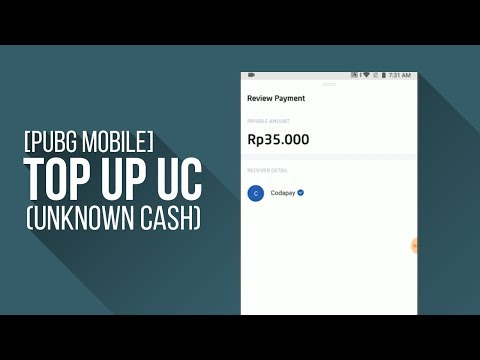 Cara Top Up UC PUBG Mobile pakai GO Pay