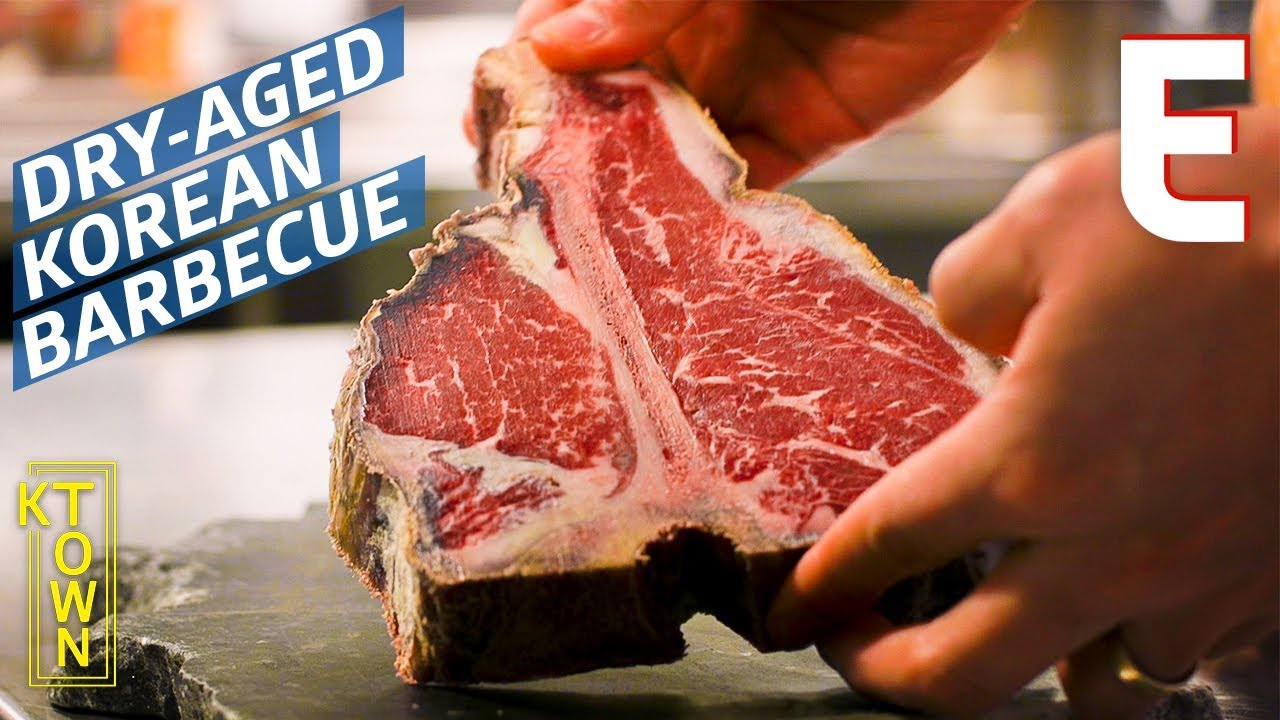 Can An In-House Dry-Aging Room Earn Korean Barbecue Its First Michelin Star In the USA? — K-Town thumbnail