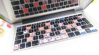 Washi Tape DIY | MacBook Pro bekleben / Tastatur bekleben Washi Tape Deko | deutsch