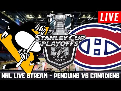Pittsburgh Penguins vs Montreal Canadiens Game 3 Live | Stanley Cup Playoffs Play by Play Stream