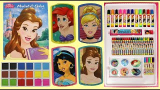 How To Make DIY Princess World Of Art And Crafts Activity Set Art