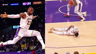 LeBron James IN TROUBLE With Lakers After Anthony Davis Injury! Lakers vs Suns Game 4