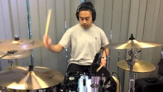 Fortune Teller - The Word Alive - drum cover