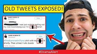 David Dobrik OLD tweets EXPOSED! #DramaAlert Logan Paul vs KSI Review by KEEMSTAR!