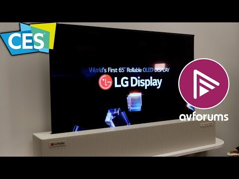 The Best 4K HDR OLED and LED TVs of CES 2018 (видео)