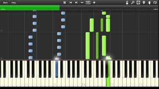 Joe Jackson - Steppin' Out Synthesia Tutorial