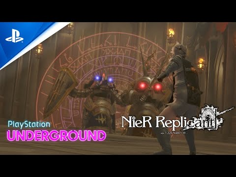 New NieR Replicant gameplay showcases intense 2-on-1 boss fight