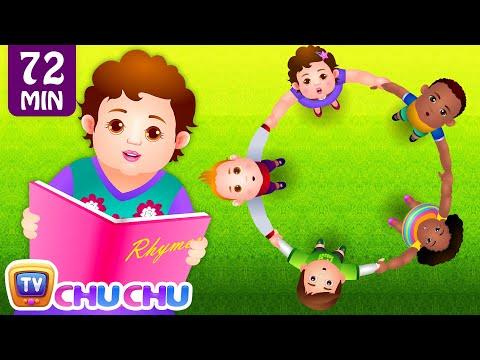 Ringa Ringa Roses (Ring Around the Rosie) & Many More Nursery Rhymes & Songs for Children | ChuChuTV