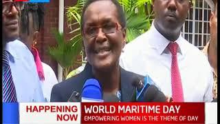 Kenyan women celebrate World Maritime Day