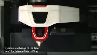 Additive Manufacturing of 3D-parts in Milling quality - LASERTEC 65 3D