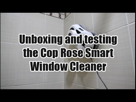 Unboxing and Testing the Cop Rose Window Cleaner on Various Sufaces