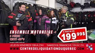ENSEMBLE DE MOTONEIGE, CASQUE DE MOTONEIGE ET VTT, BOTTES LOUP MARIN  – Novembre – 2019