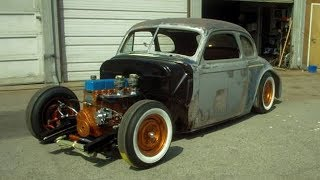 1940 Chevrolet Special Deluxe Coupe Hot Rod Build Project