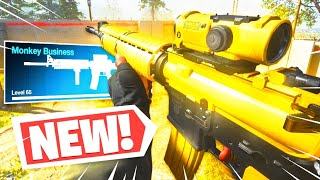 the NEW M4A1 is for monkeys only wait what (Modern Warfare Warzone)