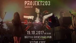 Video Projekt203 - pozvánka na koncert , 19.10.2017, British Rockstars