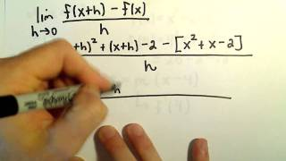 Finding the Equation of a Tangent Line Using a Derivative, Ex 2