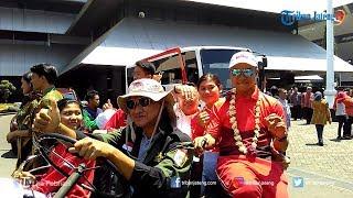Atlet Asian Games Asal Jateng Diarak Keliling Kota Semarang