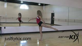 Arabesque Tutorial and Demonstration from Just For Kix