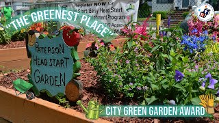 Paterson Head Start Wins City Green's The Greenest Place in Paterson Contest
