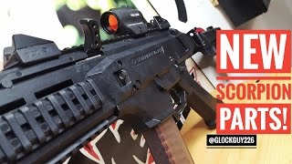 💥NEW PARTS ON THE CZ SCORPION!💥