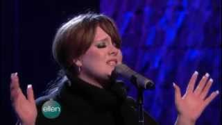 Adele - Chasing Pavements on The Ellen DeGeneres Show (10 Dec. 2008)
