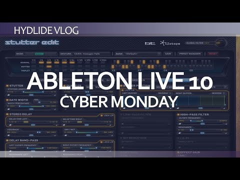 Ableton Live 10<br/>Cyber monday and buying too many plugins