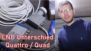 Unterschied zwischen Quattro- und Quad-LNB