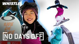 8-Year-Old Snowboarding PHENOM Shreds Like A PRO!